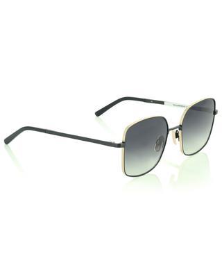 The Glamorous square black and golden metal sunglasses VIU