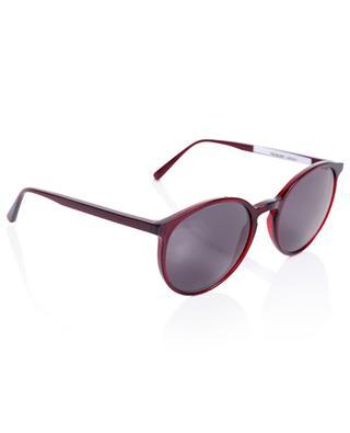 The Delight Cabernet round acetate sunglasses VIU
