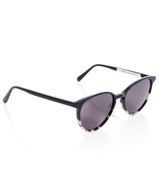 The Savvy Black Stracciatella cat eye spirit sunglasses VIU