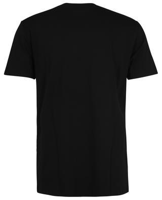 Schwarzes T-Shirt aus Bio-Jersey mit V.P.C.-Print A.P.C.