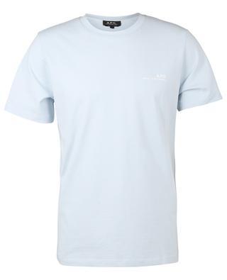 Item printed jersey T-shirt A.P.C.