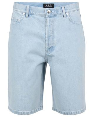 Teddy bleached denim shorts A.P.C.