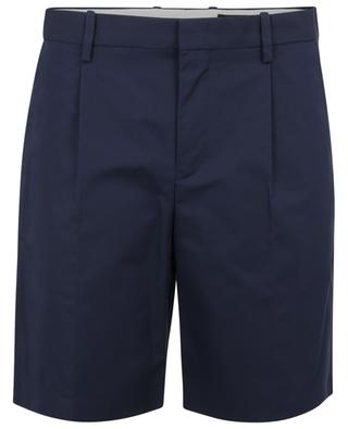 Terry quilted pleat gabardine shorts A.P.C.