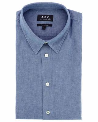 Hector long-sleeved chambray shirt A.P.C.