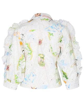 Hemd mit Print und Stickereien Paradise Found Tux HAYLEY MENZIES