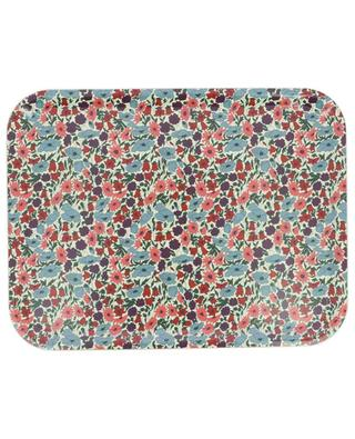 Poppy and Daisy printed laquered wood tray LIBERTY LONDON
