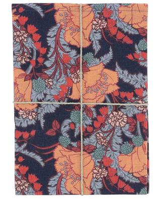 June printed linen tea towel LIBERTY LONDON