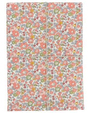Betsy linen printed tea towel LIBERTY LONDON