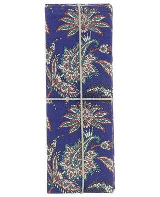 Set de quatre serviettes de table en lin imprimé Leontine LIBERTY LONDON