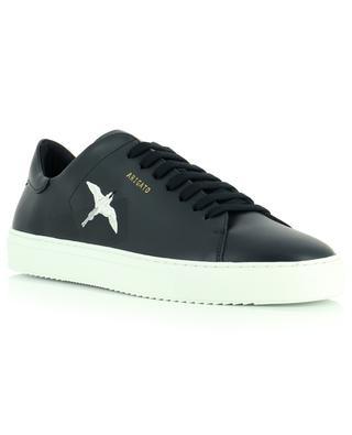 Sneakers aus Glattleder mit gesticktem Kolibri Clean 90 AXEL ARIGATO