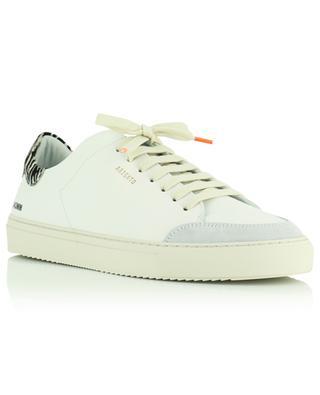 Sneakers aus Glattleder mit drei Einsätzen Clean 90 triple Animal AXEL ARIGATO