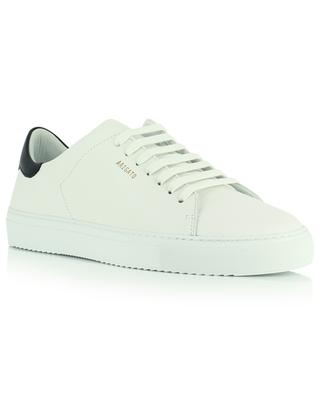 Clean 90 constrast black and white smooth leather sneakers AXEL ARIGATO