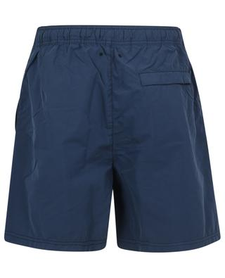 Compass adorned brushed nylon swim shorts STONE ISLAND
