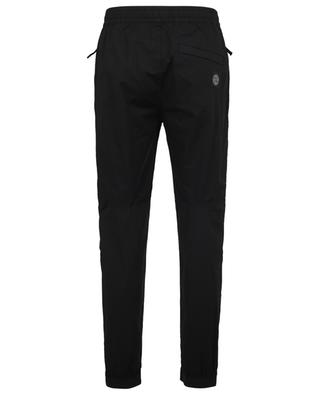 Pantalon ajusté en popeline de coton avec Patch Compass STONE ISLAND
