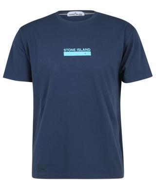 T-shirt en coton imprimé logo STONE ISLAND