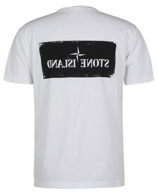 T-shirt avec impression logo recto-verso STONE ISLAND