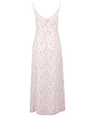 Riemchenkleid aus floralem Georgette GANNI