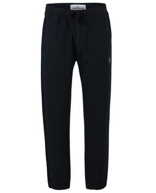 Compass felted cotton track trousers STONE ISLAND