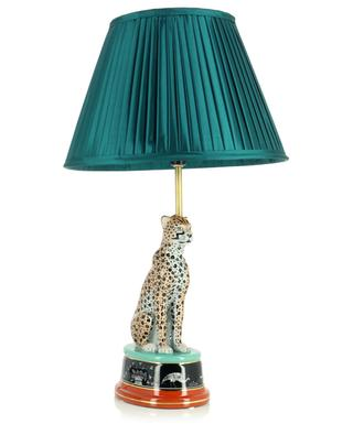 Ceramic leopard lamp KLEVERING