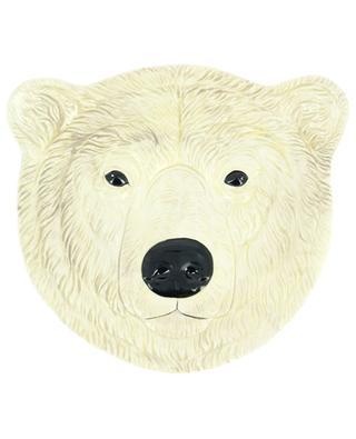 Eisbär-Teller aus Keramik KLEVERING