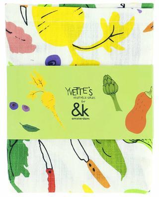 Tablier imprimé en coton bio Yvette van Bowen KLEVERING