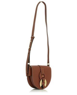Darryl Saddle Small grained leather shoulder bag CHLOE