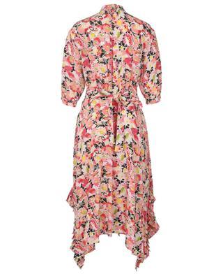 Robe asymétrique en soie fleurie Ophelia STELLA MCCARTNEY