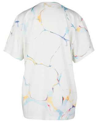 Stella McCartney 2001. print marble effect oversize T-shirt STELLA MCCARTNEY