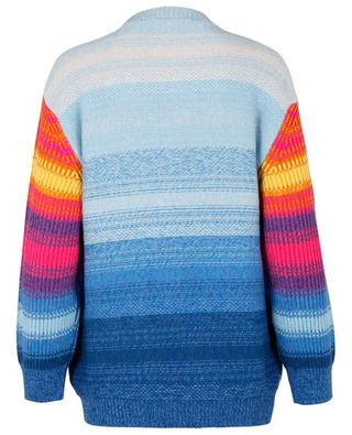 Kind multicolour embroidered oversize jumper STELLA MCCARTNEY
