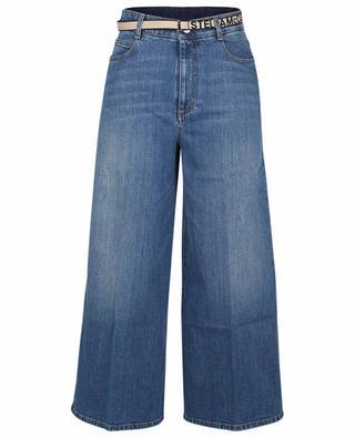 Orgeco Darkstone Blue high-rise straight fit jeans STELLA MCCARTNEY