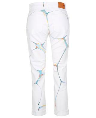 Marble On White skinny boyfriend jeans STELLA MCCARTNEY