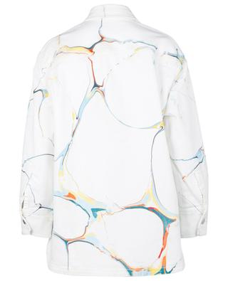 Veste en jean effet marbré Marble on White STELLA MCCARTNEY