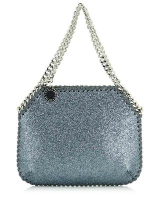 Mini sac à main en daim synthétique brillant Falabella STELLA MCCARTNEY