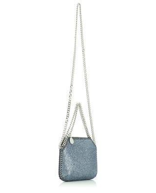 Falabella shiny faux suede mini handbag STELLA MCCARTNEY