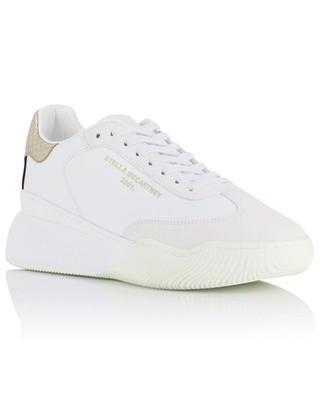 Loop faux leather wedge sneakers STELLA MCCARTNEY