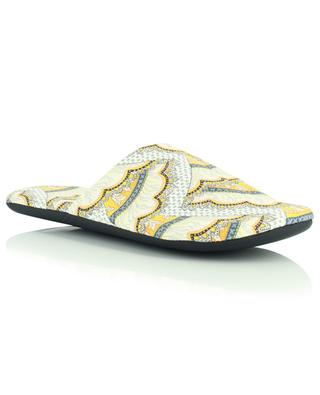 Cecil paisley print slippers LIBERTY LONDON
