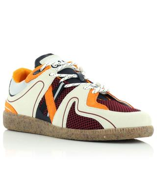 Sporty Mix Retro Egret recycled multi-material sneakers GANNI