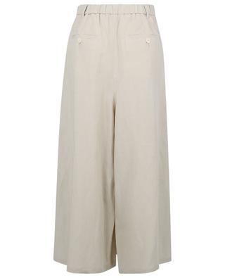 Cinzano linen culottes with pleats MOMONI