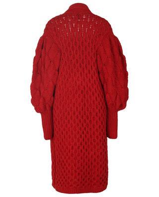 Julie long cashmere and alpaca coat LETANNE