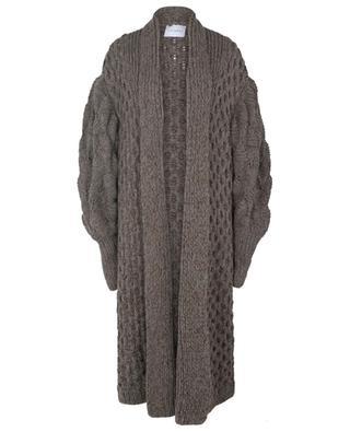 Langer Mantel aus Kaschmir und Alpaka Julie LETANNE