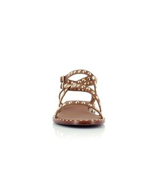 Petra 20 flat studded leather sandals ASH