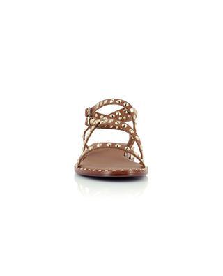 Sandales plates cloutées en cuir Petra 20 ASH