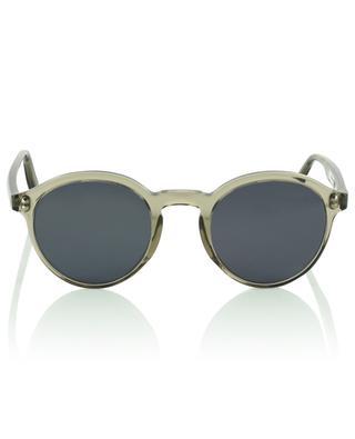 The Sharp round clear acetate sunglasses VIU