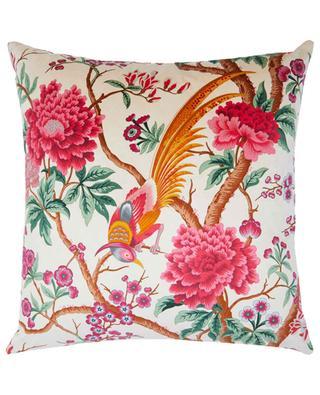 Grand coussin en velours imprimé Elysian Paradise LIBERTY LONDON