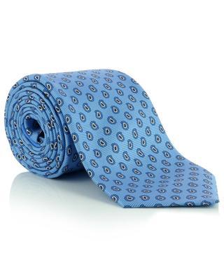 Cravate en soie imprimée paisley ERMENEGILDO ZEGNA