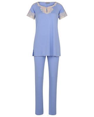 Pyjama en jersey et dentelle Rosmarino PALADINI