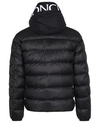 Provins lightweight down jacket with logo printed hood MONCLER