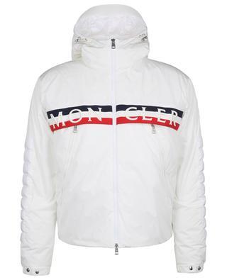 Daunenjacke aus mattem Nylon mit Logo Olargues MONCLER