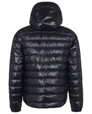 Blesle glossy nylon down jacket with blue-white-red detailing MONCLER