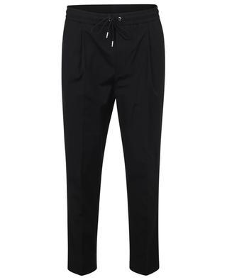 Pantalon à pinces jogger fit en coton MONCLER